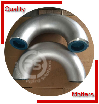 Threaded 180 Degree Elbow Material Inspection