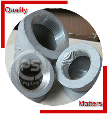 Threaded 45 Degree Elbow Material Inspection
