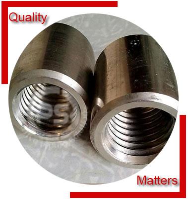 ANSI/ASME B16.11 Threaded Full Coupling Material Inspection