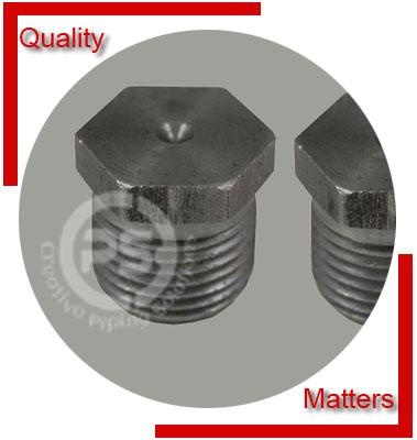 ANSI/ASME B16.11 Threaded Hex Head Plug Material Inspection