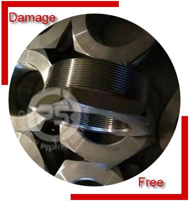Threaded Square Head Plug Packing & Forwarding
