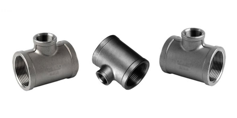 ANSI/ASME B16.11 Threaded Unequal Tee Suppliers