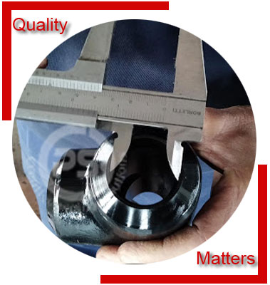 Welded Pipe Fittings Material Inspection